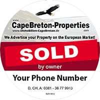 Real Estate - Land, Homes, Cottages, Farms, Woodland, Building Lots and more with or without Waterfront - For Sale by Owner on Cape Breton Island, Nova Scotia, Canada